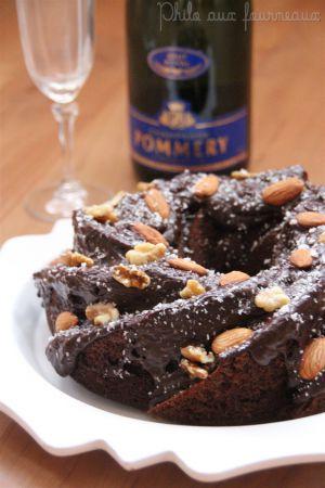 Recette Bundt cake facile au chocolat