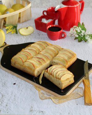 Recette Gâteau pommes figues ( sans sucre ajouté)