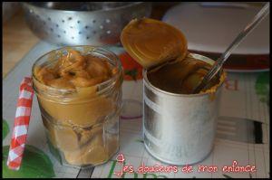 Recette Confiture de lait au cookéo :)