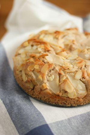 Recette Gâteau poire amandes (vegan)