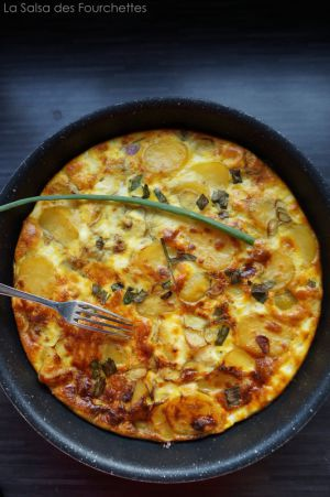 Recette Frittata au fenouil