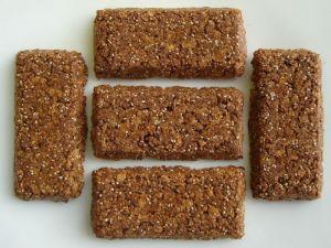 Recette Barres de céréales à la caroube et au Chia