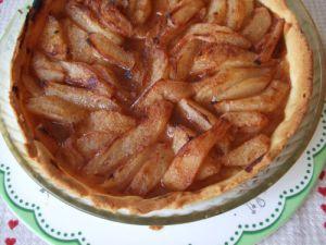 Recette Tarte aux poires épicées