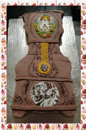 Recette Gâteau horloge comtoise