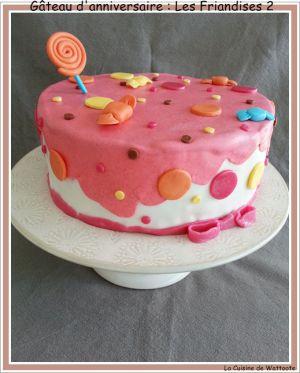 Recette Gâteau d'anniversaire : Les friandises no 2