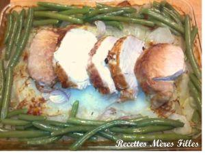 Recette Porc : Rôti de porc « à la boulangère »