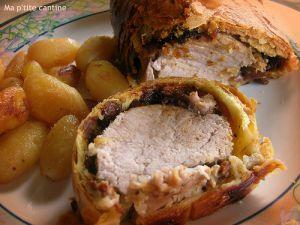 Recette Filet mignon de porc en croûte