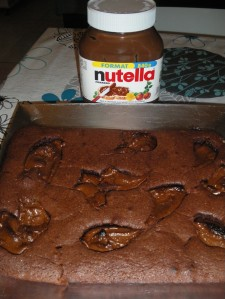 Recette Brownie au Nutella