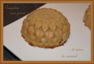 Recette Cuajadas aux poires et crème de caramel