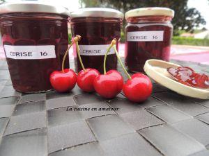 Recette Confiture de cerises et vanille au Cookéo