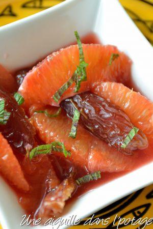 Recette Salade d'oranges et dattes medjool