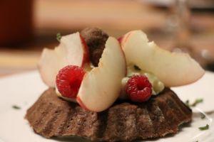 Recette Tarte choco-fruits d'été