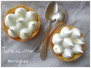 Recette Tarte au citron meringuée 2