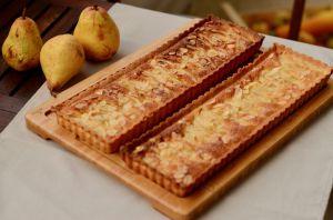 Recette Tarte amandine – poires