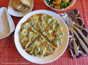 Recette Frittata gratinée aux artichauts +