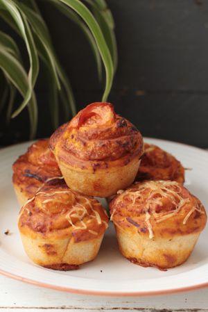 Recette Pizza muffin
