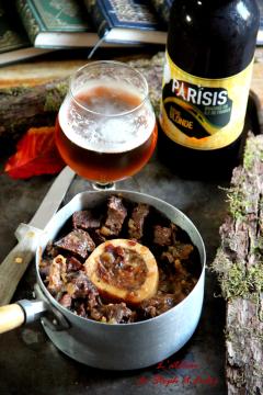 Recette Joue de bœuf à la bière et au miel
