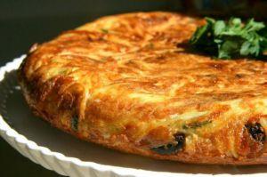 Recette Frittata omelette de pâtes