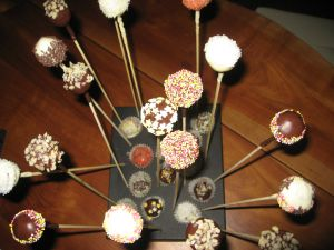 Recette Cake pops-Cake balls