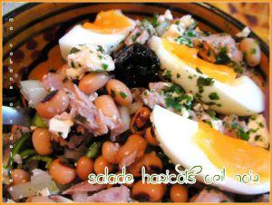 Recette Salade haricots oeil noir