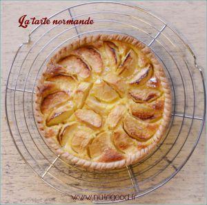 Recette Tarte Normande, une autre tarte aux pommes