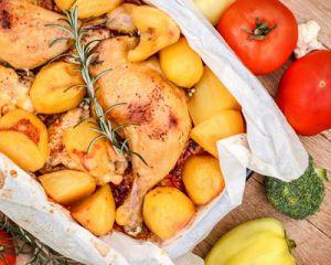 Recette Cuisse de poulet pdt au COOKEO