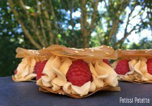 Recette Mille-feuilles framboises et dulcey