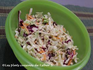 Recette Salade de chou hybride