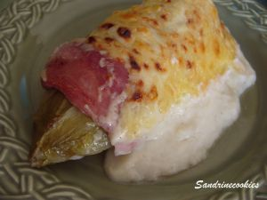 Recette Endives au jambon