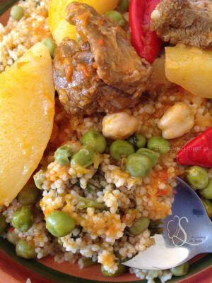 Recette Taam bel besbas couscous aux fanes de fenouil