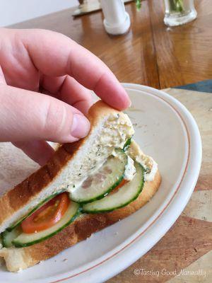Recette Picnic végane avec Sandwich et Smoothie #vegan