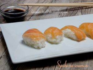 Recette Sushi au saumon