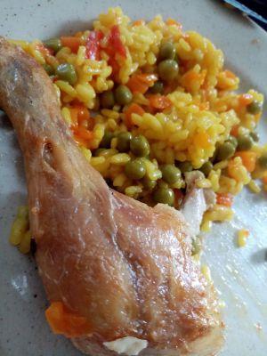 Recette Réchauffer des cuisses de poulet à l'extra crisp
