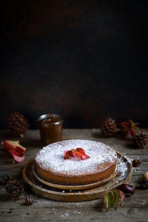 Recette Gâteau farci à la crème de marrons (tout-en-un)
