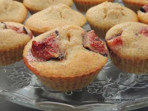 Recette Mini gâteau aux figues et amandes