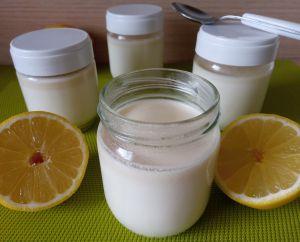 Recette Yaourt au citron