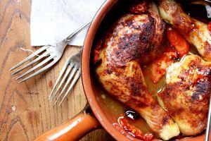 Recette Cuisses de poulet au miel