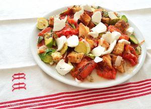 Recette Salade tiède (ou pas) tomates, avocats, mozzarella