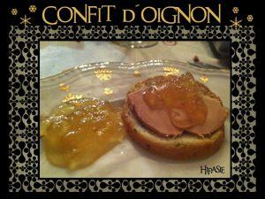 Recette Confit d'Oignon spécial Foie gras