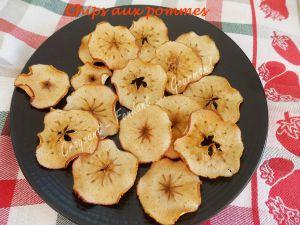 Recette Chips aux pommes