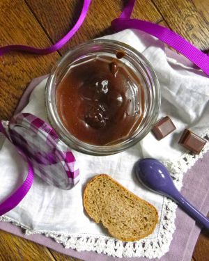 Recette Pâte à tartiner chocolat - café