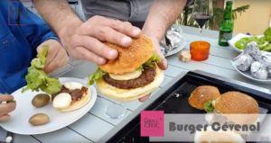 Recette Burger Cévenol avec Grill'Chic