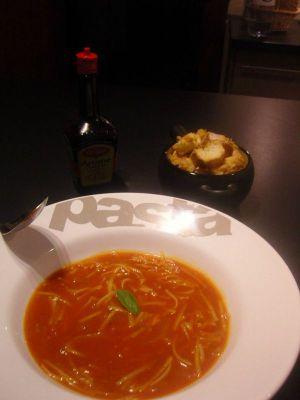 Recette Soupe a la tomate