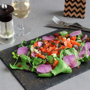 Recette Salade d'Orge & Gravlax