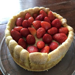 Recette Charlotte vanille et fruits rouges