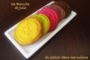 Recette Biscuits de Julie