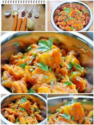 Recette Carottes à la Marocaine aux pommes de terre