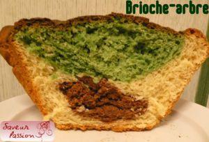 """Recette Brioche """"surprise"""" en couleur et en dessin : l'arbre et le """"chat"""""""
