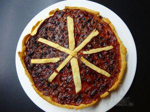 Recette Tarte aux raisins (tarte à la farlouche)
