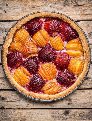 Recette Ma tarte aux prunes